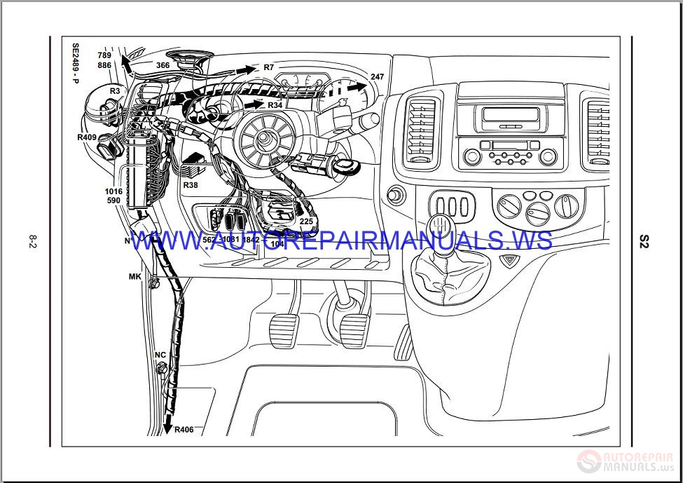 Renault Trafic X83 Nt8379 Disk Wiring Diagrams Manual 16