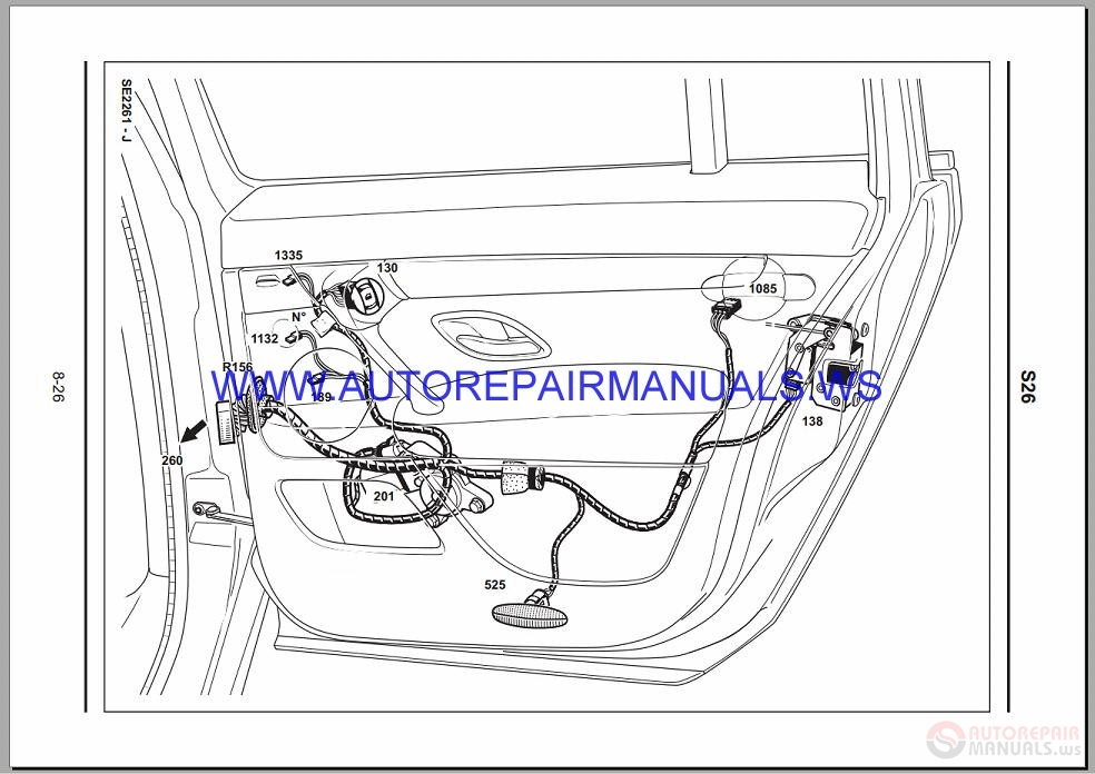 Renault Velsatis X73 Nt8247 Disk Wiring Diagrams Manual 17