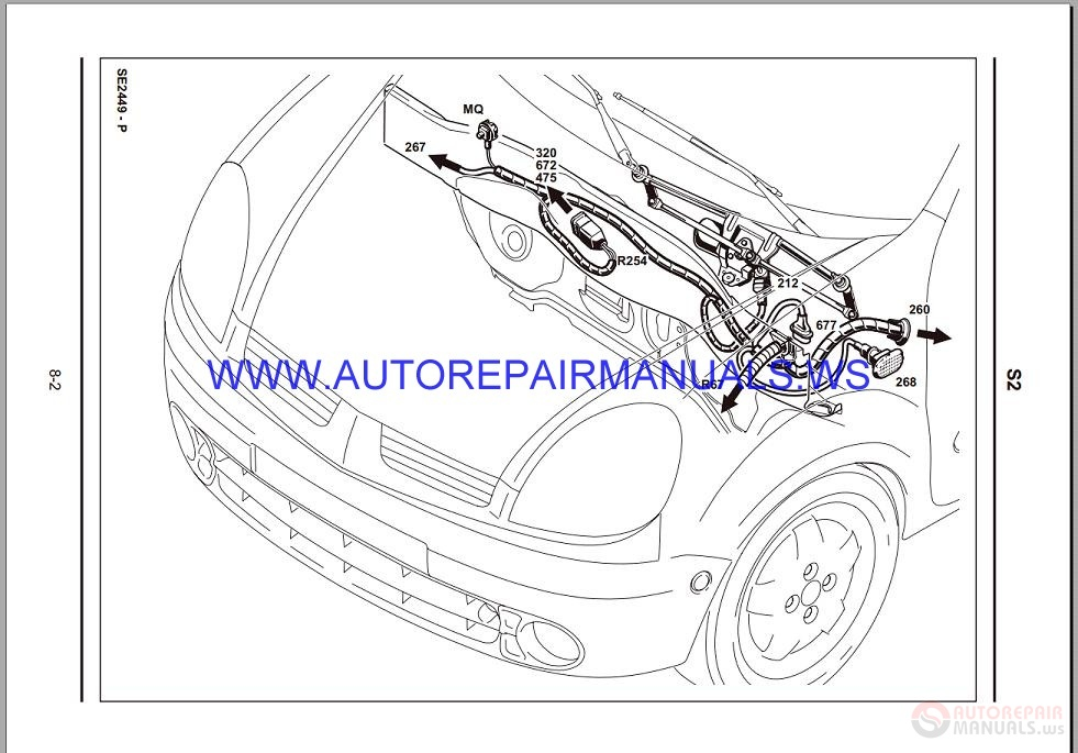 Renault Kangoo X76 Nt8331 Disk Wiring Diagrams Manual 10
