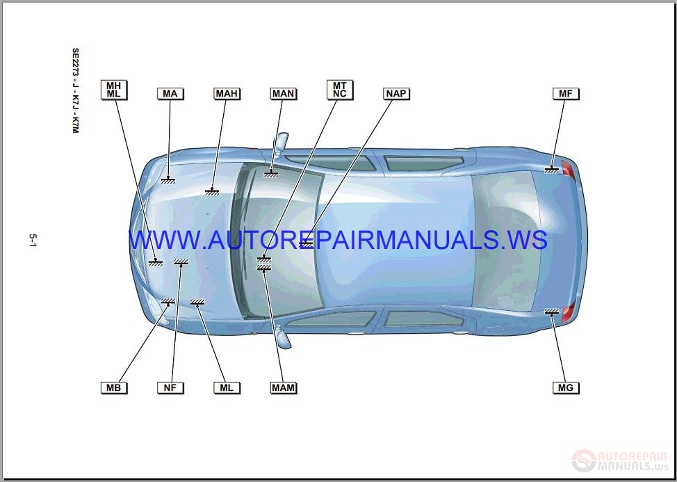 Renault Logan X90 Nt9800 Disk Wiring Diagrams Manual 06-2004