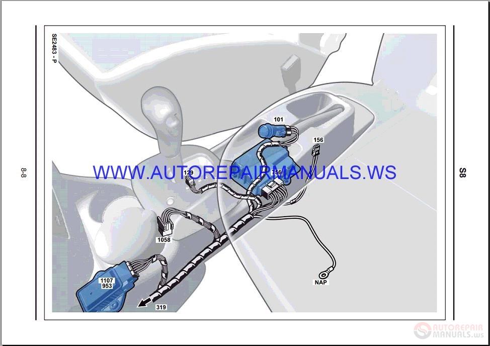 Renault Modus J77 Nt8373 Disk Wiring Diagrams Manual 30