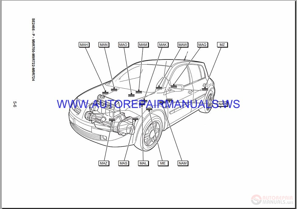 renault megane ii x84 nt8343 disk wiring diagrams manual 02