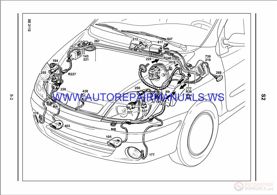 Diagram  Renault Laguna 2 Wiring Diagram Pdf Full Version