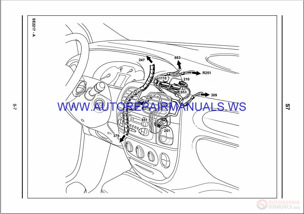 Renault Scenic Wiring Diagram 2002