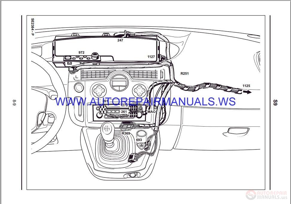 Renault Grand Scenic Iii Wiring Diagram