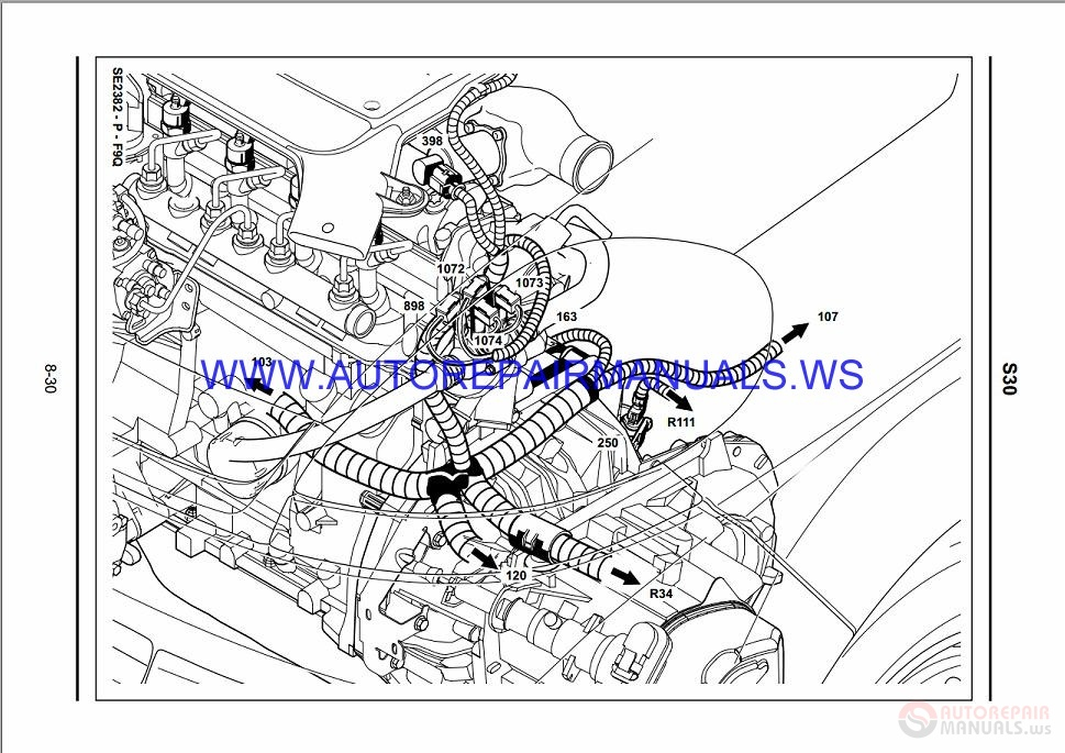 Renault Trafic X83 Nt8279 Disk Wiring Diagrams Manual 14
