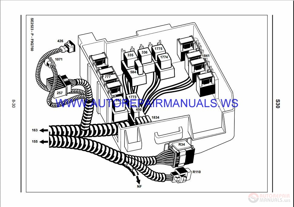 Renault Trafic X83 NT8380 Disk    Wiring    Diagrams Manual 15102007   Auto Repair Manual Forum