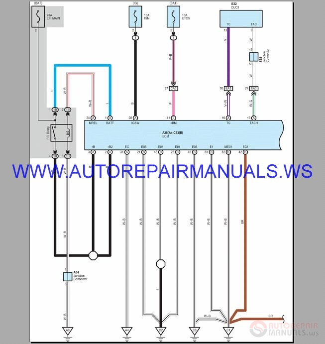 Lexus Lx570 5 7l Wiring Diagram Manual 2015
