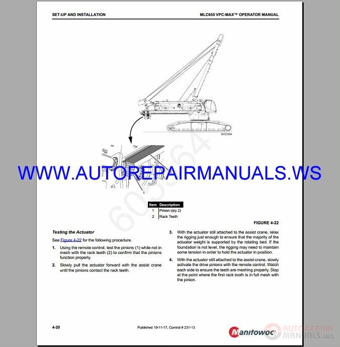 grove crane electrical diagram manitowoc crawler cranes all model shop manual dvd auto  manitowoc crawler cranes all model shop manual dvd auto