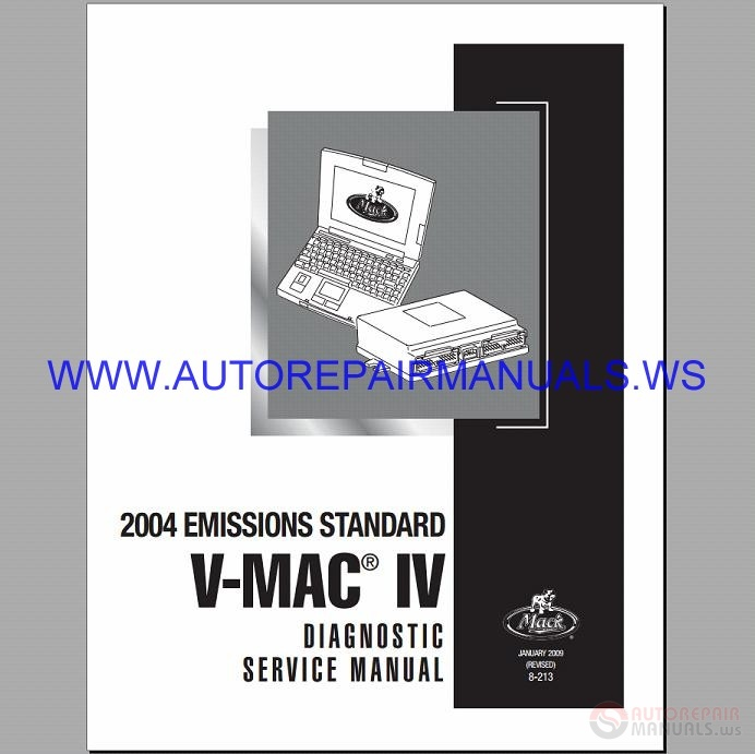 mack mp8 engine service manual