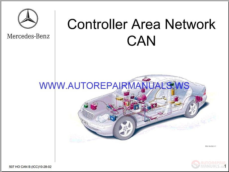 Mercedes-Benz BR900 Fault Codes Control Service Training