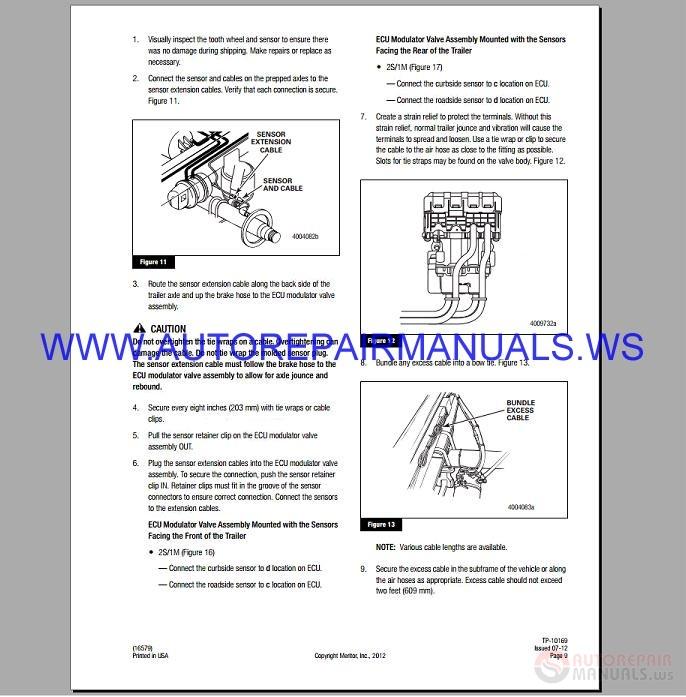 wabco air compressor service manual