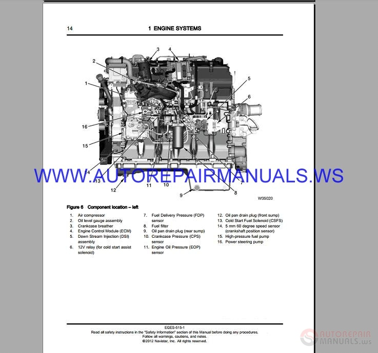navistar maxxforce 15l epa10 diagnostic engine service manual 2012