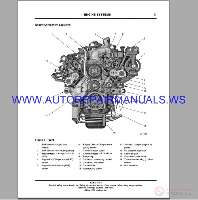 navistar maxxforce 7 epa07 diagnostic engine service