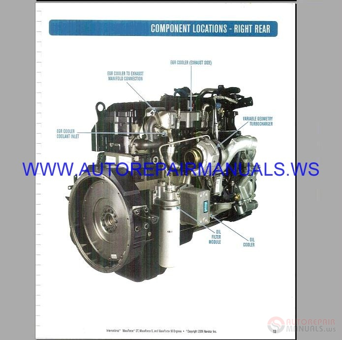 Navistar Maxxforce Epa Diagnostic Engine Schematic Service Manual on Navistar Wiring Diagrams