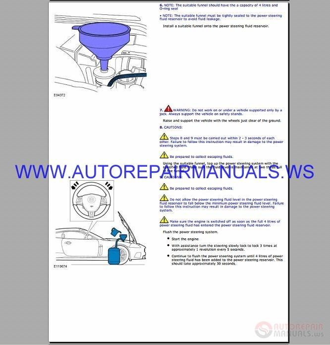 Jaguar X-type Workshop Manual 2001-2009