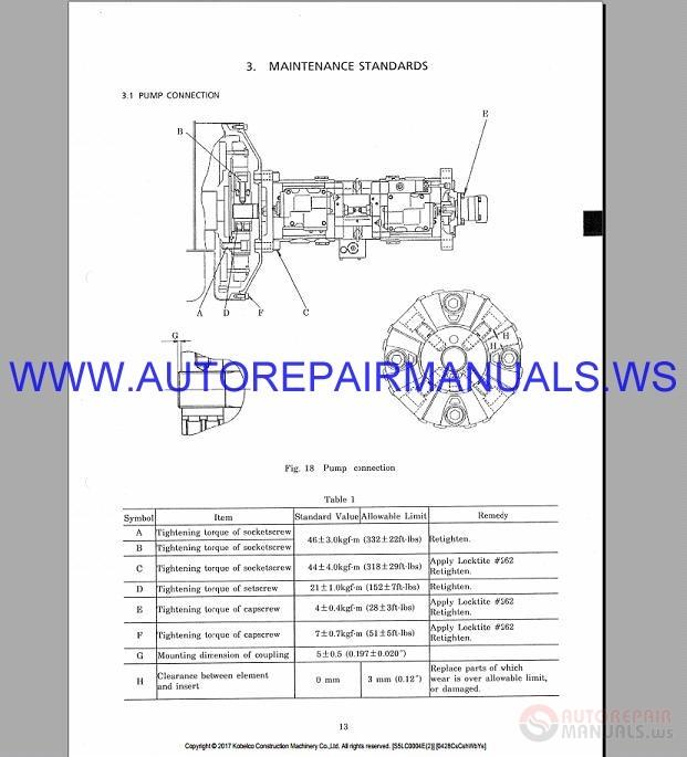Kobelco SK300-2 SK300LC-2 Hydraulic Excavator Shop Manual ... on kobelco sk210lc, kobelco 200 specs, kobelco sk480, kobelco sk350,