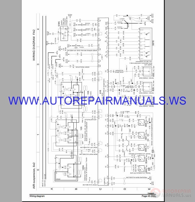 volvo fm4 fh4 fl3 fe3 wiring diagrams manual auto repair manual forum heavy equipment forums | Volvo Fm Fh Nh12 Wiring Diagram |  |