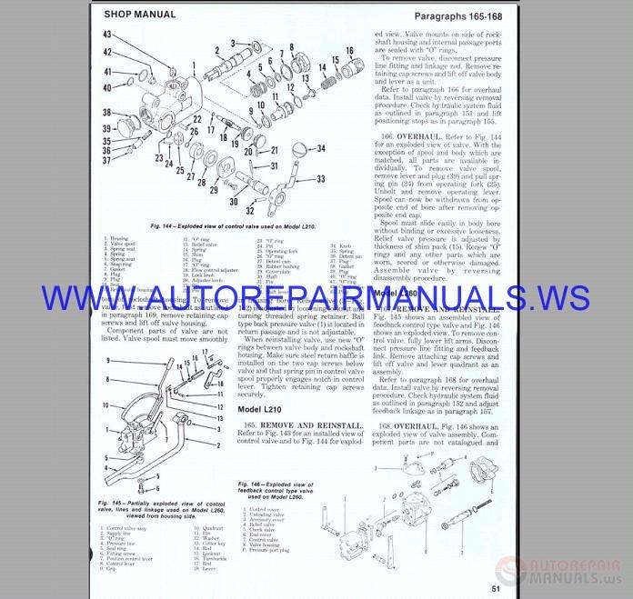 [SCHEMATICS_43NM]  Kubota Tractor L175-L260 Diesel Engine Workshop Manual | Auto Repair Manual  Forum - Heavy Equipment Forums - Download Repair & Workshop Manual | L175 Wiring Diagram |  | Auto Repair Manual Forum