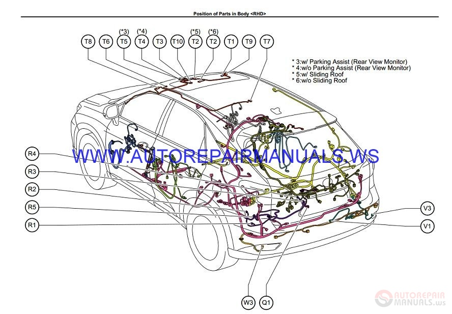 Lexus RX350 Electrical    Wiring       Diagram    Manual EM11W0E 2010   Auto Repair Manual Forum  Heavy
