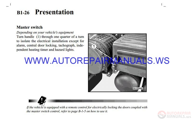 Renault Truck Ne Service Manual 2003 2005 Auto Repair border=