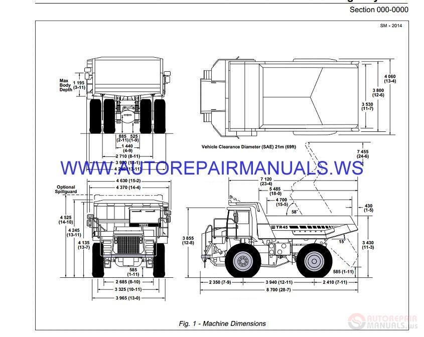 Terex Boom Truck Operators Manual