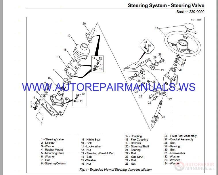 terex ta25 u002627 articulated dump truck maintenance manual 04