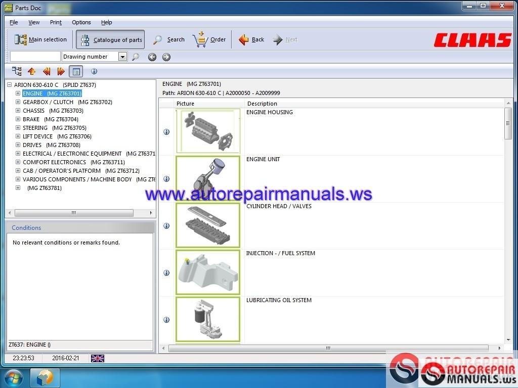 CLAAS Parts DOC 2018 FULL Auto Repair Manual Forum