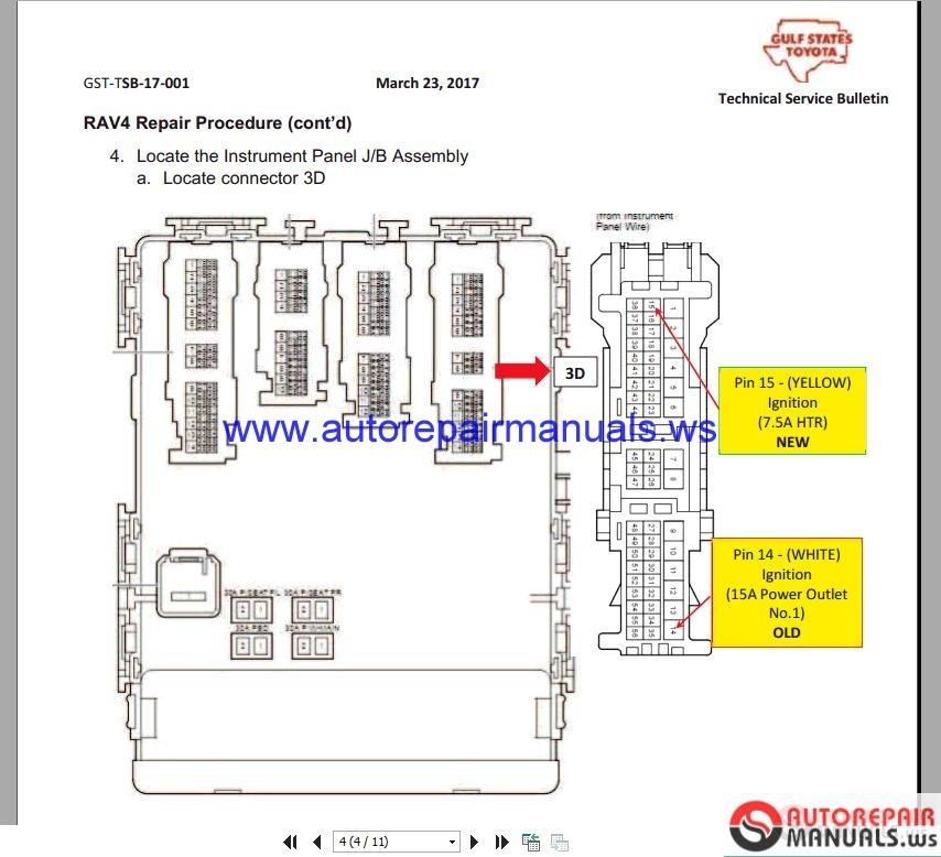 toyota hilux aircon wiring diagram 2006 hilux spotlight wiring diagram toyota rav4 2016 2.5 wiring diagrams | auto repair manual ...