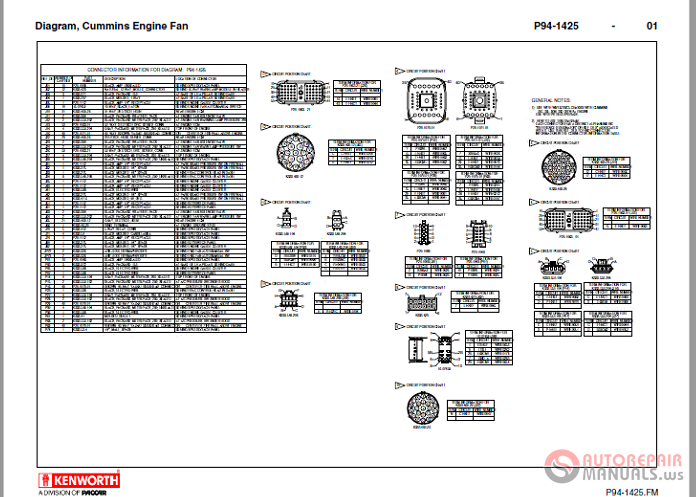 Kenworth T800 Engine Fan Wiring Diagram