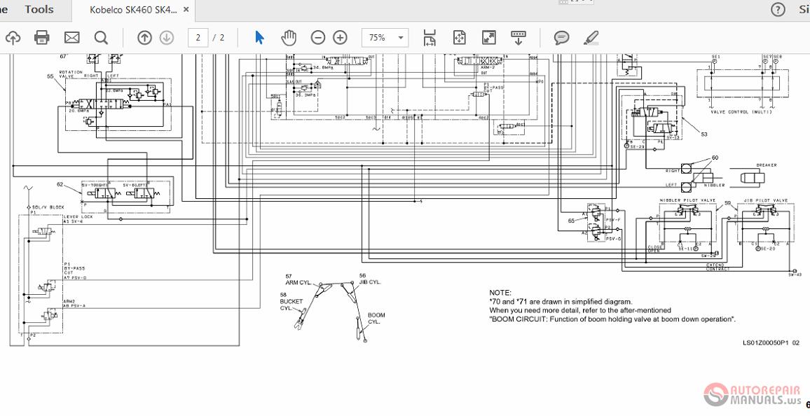 Kobelco SK460 SK480DLC-8 Hyraulic Circuit   Auto Repair ... on mustang wiring diagrams, ingersoll rand wiring diagrams, kenworth wiring diagrams, jlg wiring diagrams, chevrolet wiring diagrams, link belt wiring diagrams, lincoln wiring diagrams, thomas wiring diagrams, international wiring diagrams, new holland wiring diagrams, lull wiring diagrams, cat wiring diagrams, terex wiring diagrams, mitsubishi wiring diagrams, kaeser wiring diagrams, volkswagen wiring diagrams, chrysler wiring diagrams, kubota wiring diagrams, hyundai wiring diagrams, champion wiring diagrams,