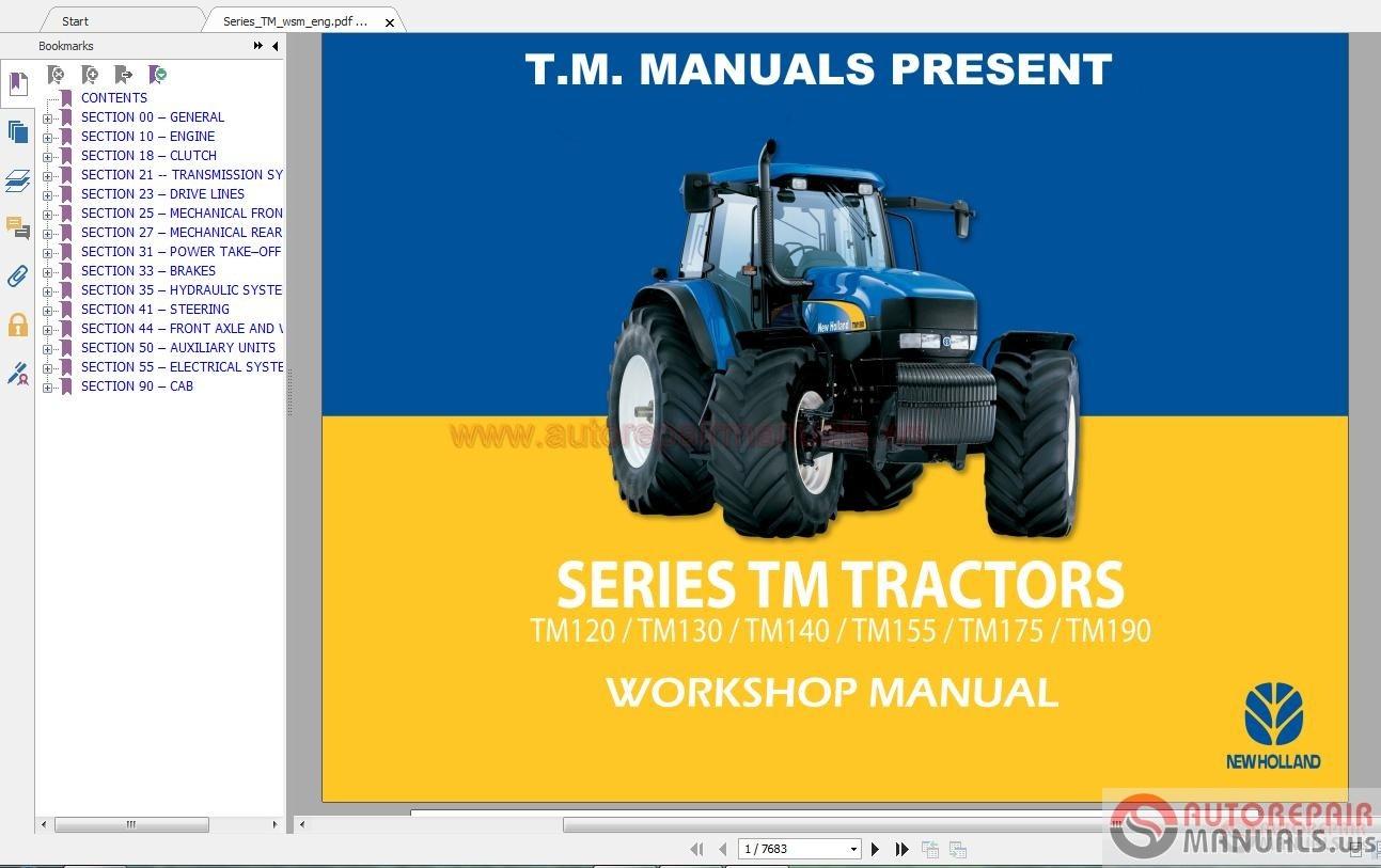 New Holland All Model Full DVD Service Manual | Auto Repair Manual