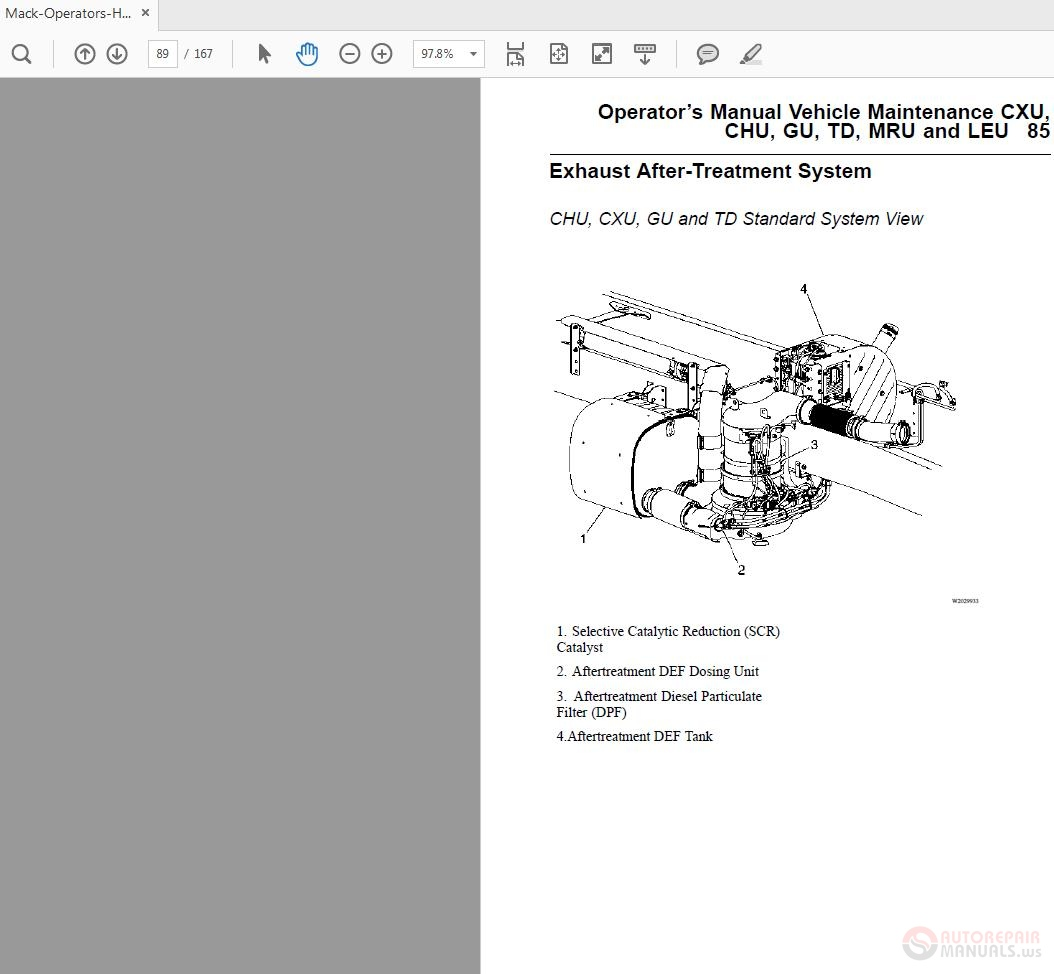 Mack MP7 MP8 and MP10 Engines Operators-Handbook | Auto