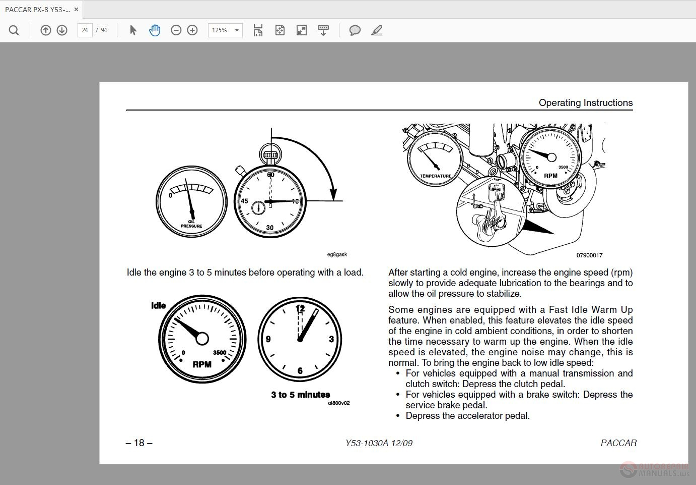 paccar engine diagram