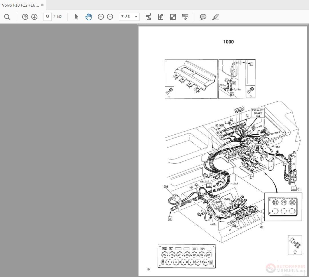 Volvo       F10 F12 F16       LHD    WD    Trucks    Service Manual   Auto Repair Manual Forum  Heavy Equipment