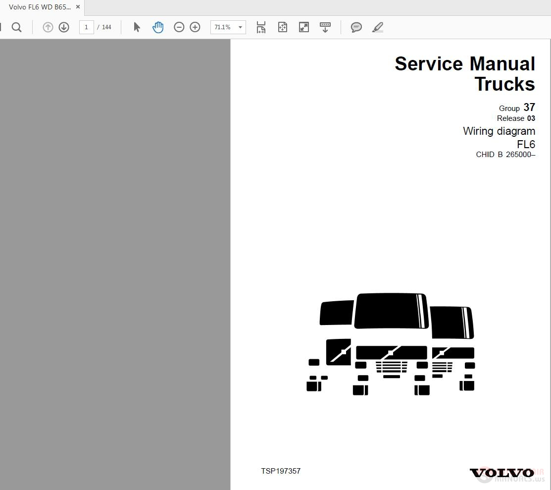 Volvo Fl6 Wiring Diagram Trusted Diagrams Xc90 Wire Fl 6 Explained Fuse B265000 Wd
