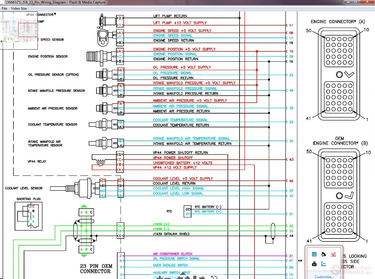 Isb 23 Pin Wiring Diagram | Wiring Library