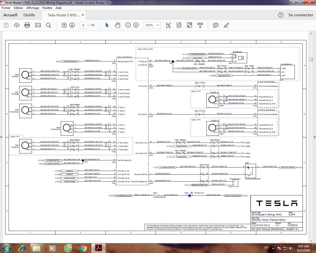 Tesla Model S Rhd 31122014 Wiring Diagram Auto Repair Manual Diagrams