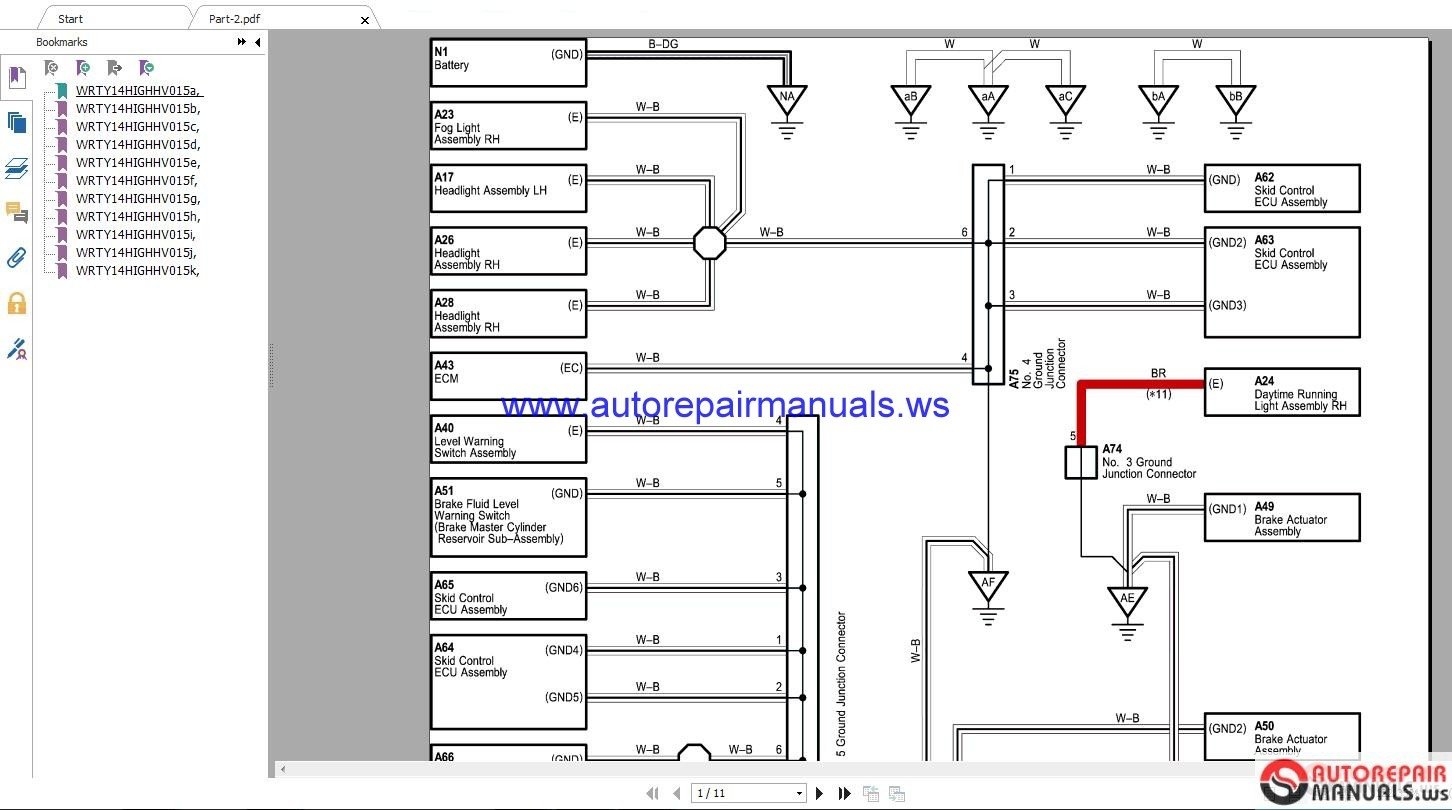 2005 toyota solara wiring diagram toyota lexus 2018 electrical wiring diagram cd | auto ... toyota vista wiring diagram #11