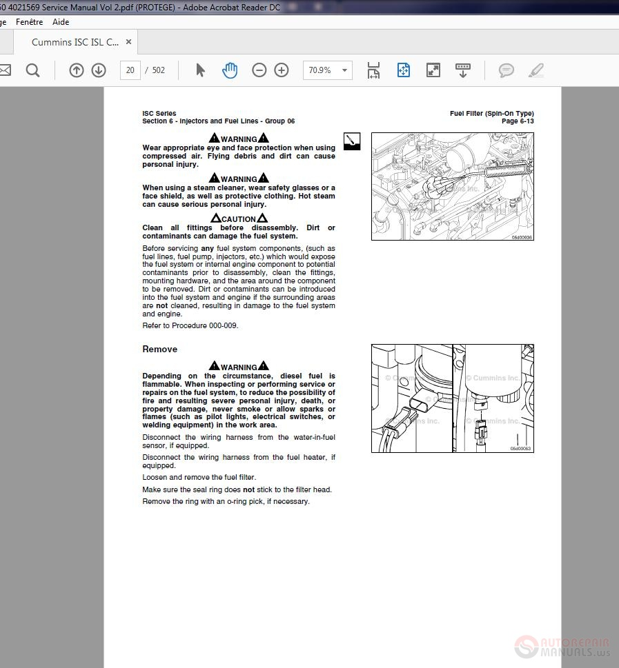 Cummins ISC ISL CM2150 4021569 Service Manual Vol 2