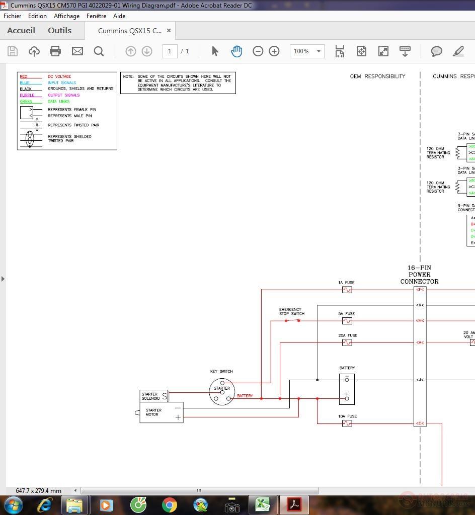 Cummins    QSX15 CM570 PGI 402202901    Wiring       Diagram      Auto Repair Manual Forum  Heavy Equipment