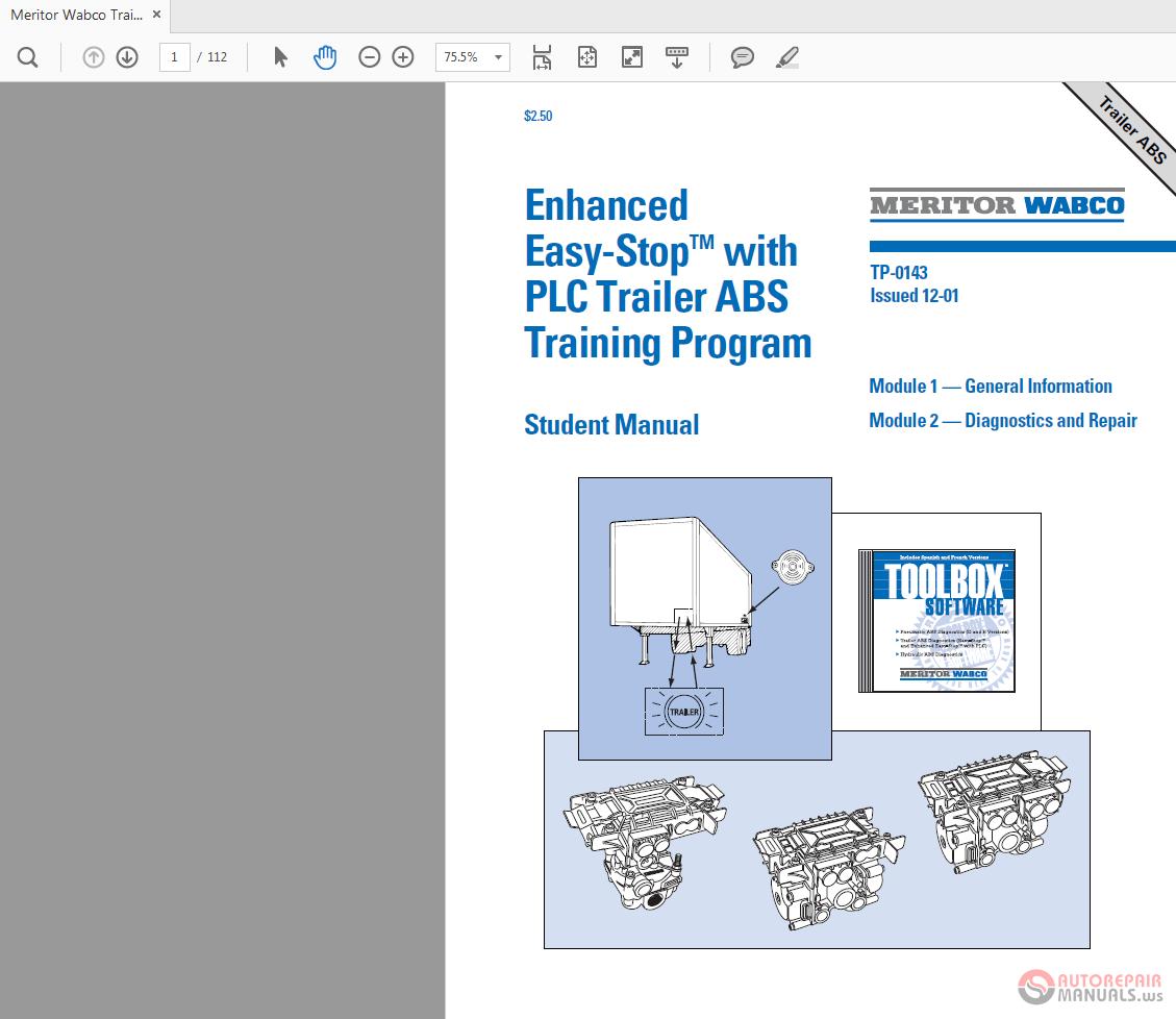 Meritor wabco abs codes trailer | Wabco D version ECU Blink Code