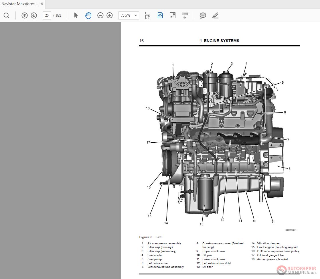 Navistar Maxxforce 7 2010 Engine Diagnostic Manual | Auto Repair Manual  Forum - Heavy Equipment Forums - Download Repair & Workshop ManualAutorepairmanuals.ws