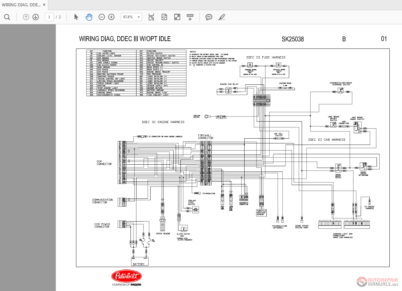 Wiring Diagram Ddec 11 Trusted Diagrams Detroit Diesel Schematics Iii Marine Schematic For 150cc Gy6 Scooter Source