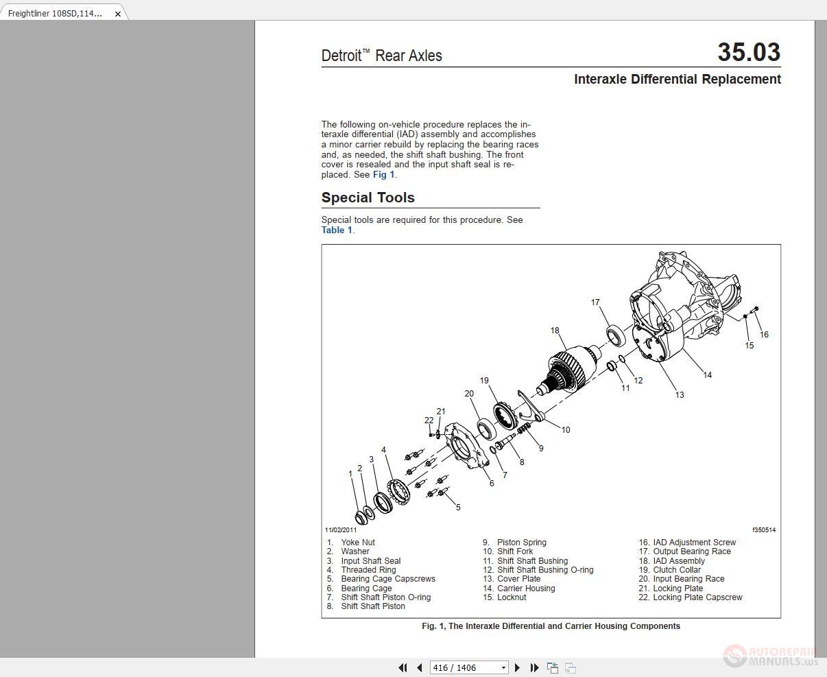 2011 Freightliner 114sd Wiring Diagram    Wiring Diagram