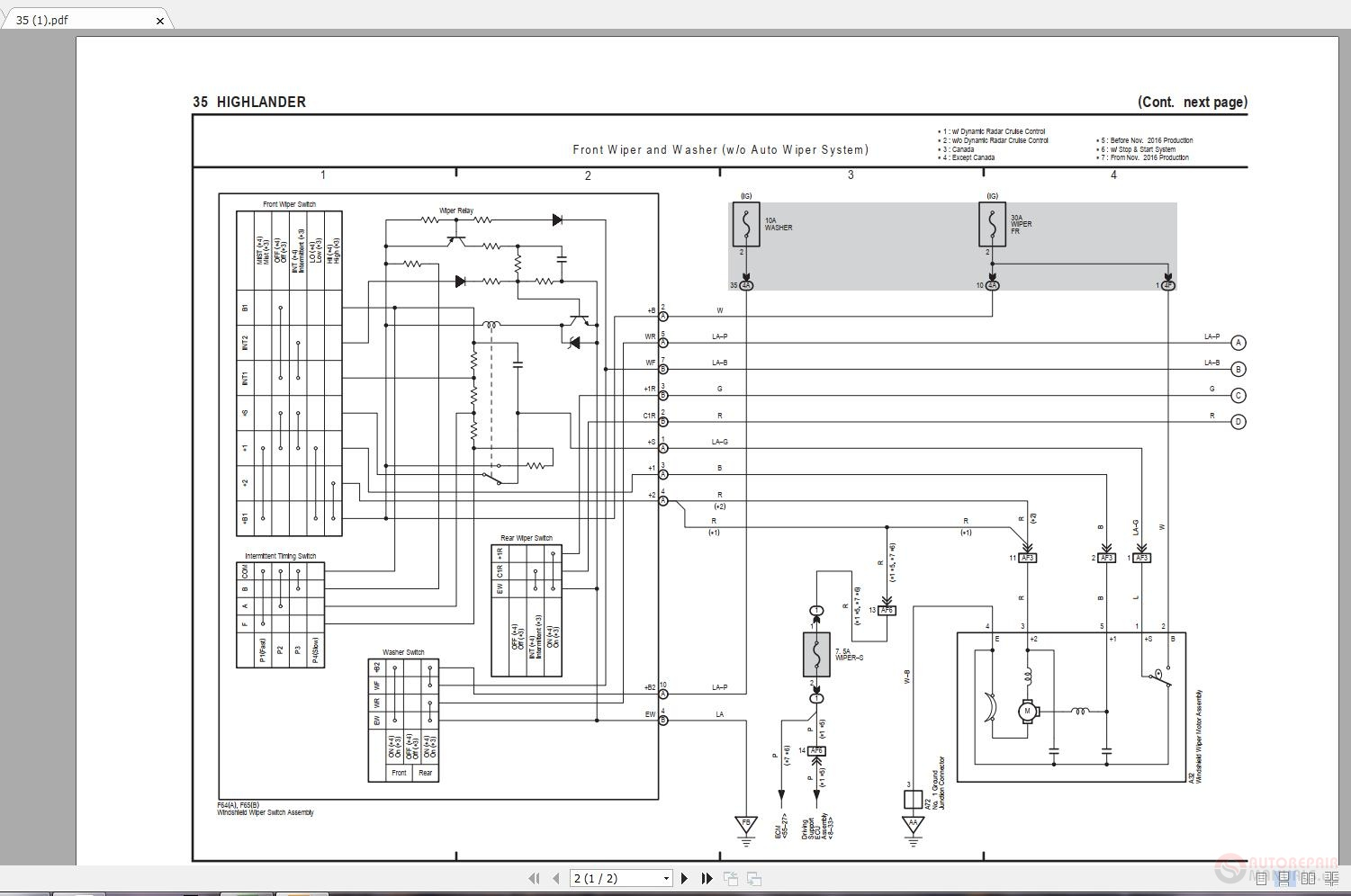 Toyota Electrical Wiring Diagram from img.autorepairmanuals.ws