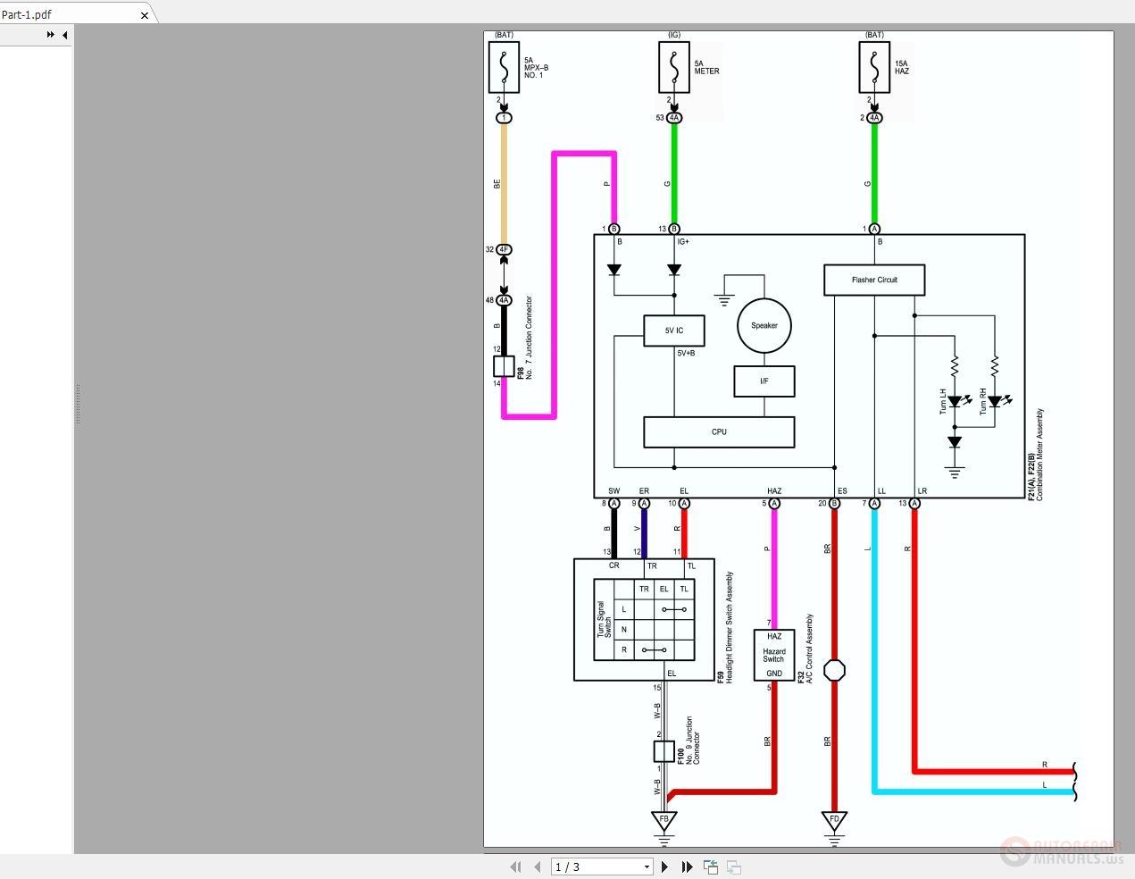 2005 Toyota Highlander Wiring Diagram from img.autorepairmanuals.ws
