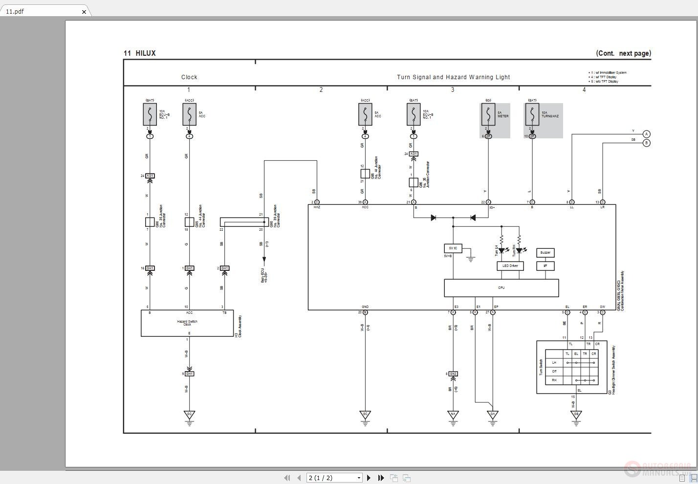 diagram] toyota hilux workshop wiring diagram full version hd quality wiring  diagram - officediagram.usrdsicilia.it  diagram database - usrdsicilia.it