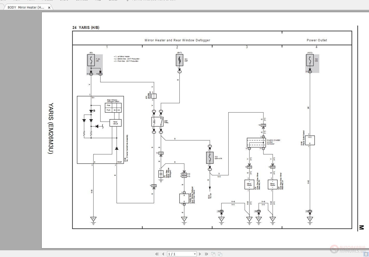 Toyota Yaris Yaris Em M U Electrical Wiring Diagram on Toyota Camry 2006 Wiring Diagram