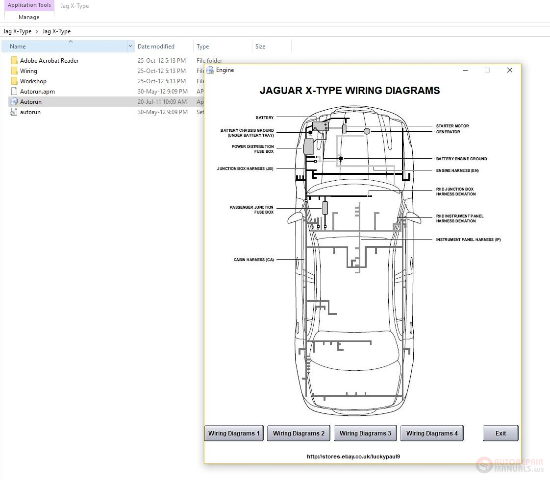 jaguar x type engine diagram jaguar x type 2001 2009 workshop manual wiring diagram auto  jaguar x type 2001 2009 workshop manual